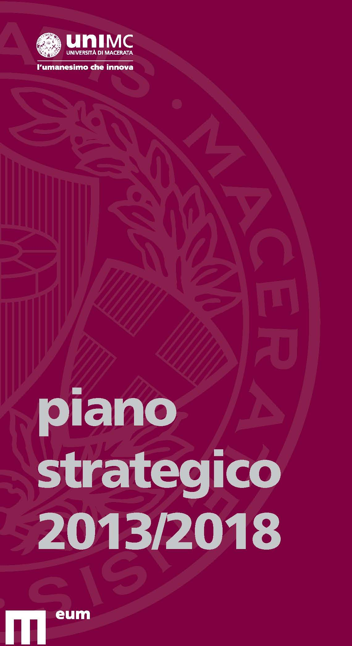 Piano strategico 2013/2018